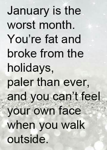 And you still have at least 2 months left of freezing cold winter!