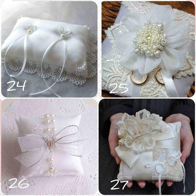 30 فكرة وسادة تلبيس خواتم الخطوبة خياطة Pillow Engagement Ring Ring Pillow Engagement