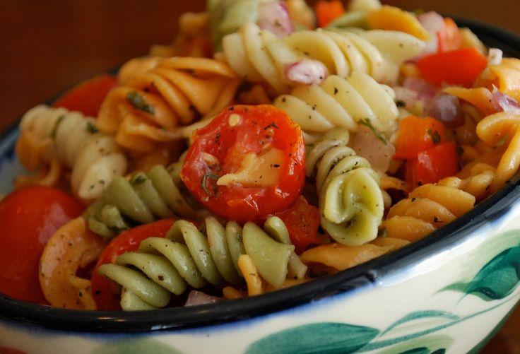 summer salad cold pasta salad pinterest