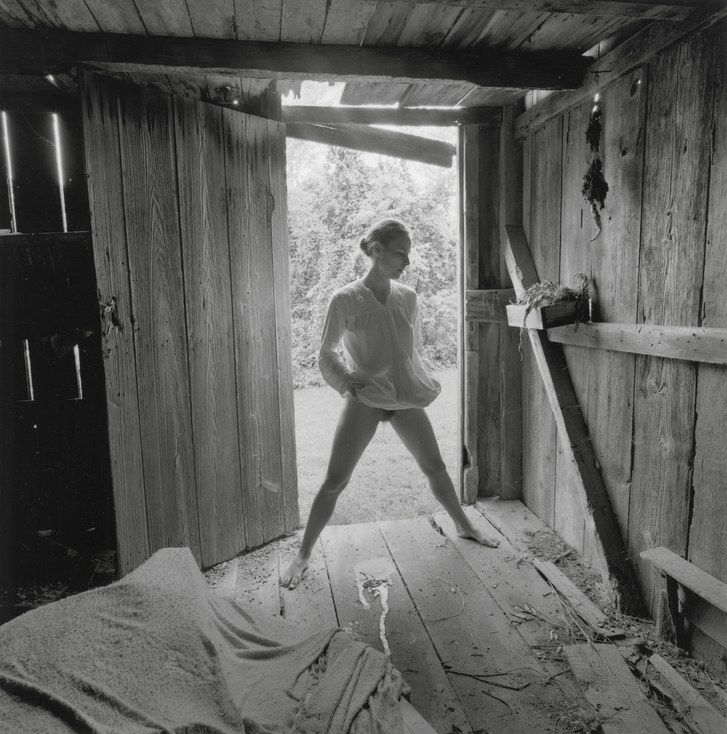 Photographers from Sally Mann to Nan Goldin owe a debt to Emmet Gowin's piercing 1971 picture of his wife, Edith, peeing in a barn.