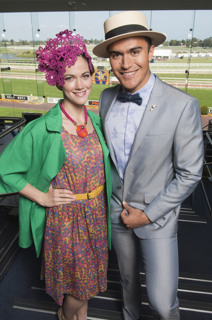 Heading Out Hair & Beauty - Official sponsors of the Melbourne Racing Club's, Caulfield Cup 2012 #ladiesluncheon #caulfieldcup #melbourne #jesintacampbell #BMW  #hair #springracing #headingout #chadstone #fashioncapital #davidjones