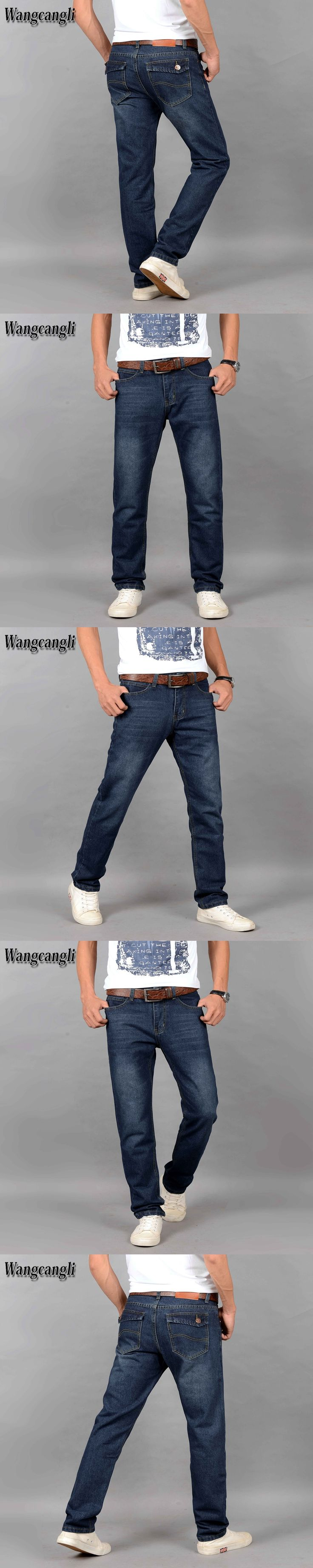 Skinny Boys Famous Brand Fashion Designer Jeans Men Straight Dark Blue Color Printed Mens Jeans Ripped Trousers Classic Jeans
