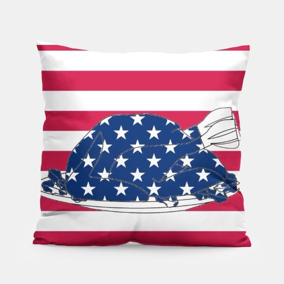 Thanksgiving / independence day turkey for my designer collection at https://liveheroes.com/en/brand/paintyul... #thanksgiving #turkey #usa #usaflag #stars #stripes #boutique #fashion #designer #badroom #pillow #home #4july #independenceday