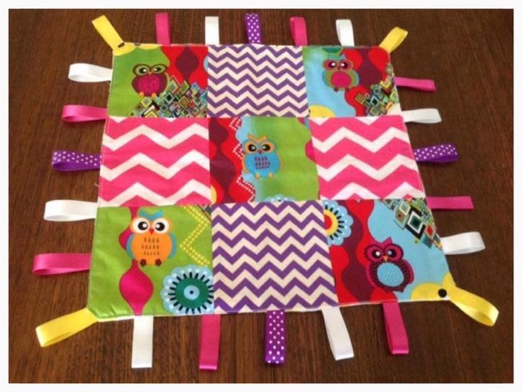 Image of Ribbon Taggie Blanket
