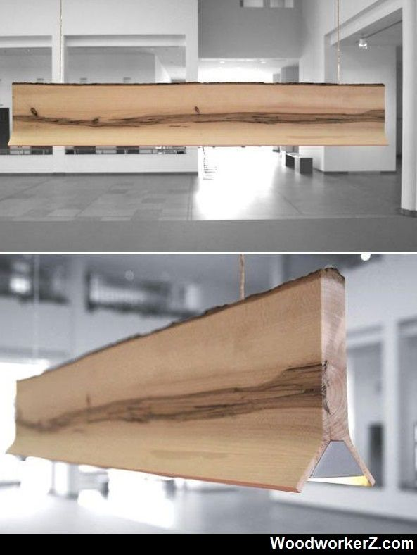 A very sleek pendant lighting solution   WoodworkerZ.com