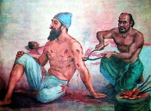 01-Baba Banda Singh Ji Bahadur tortured by Manvir_Singh_, via Flickr