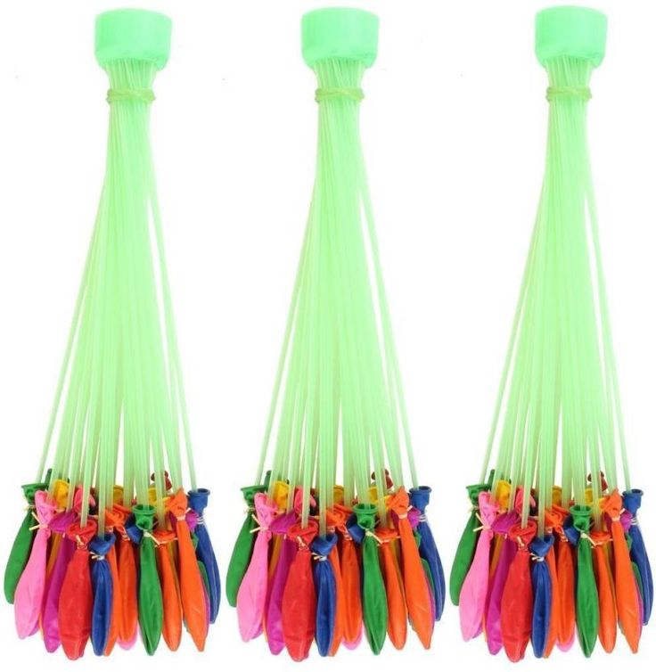 #Satyam #Kraft Solid #HOLI Water #Balloon #maker #Balloon  (Multicolor, Pack of 3)
