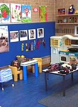 art work children have created attracting planning color scheme