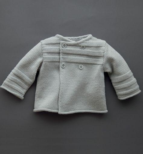 Modèle brassière croisée bébé - Modèles Layette - Phildar