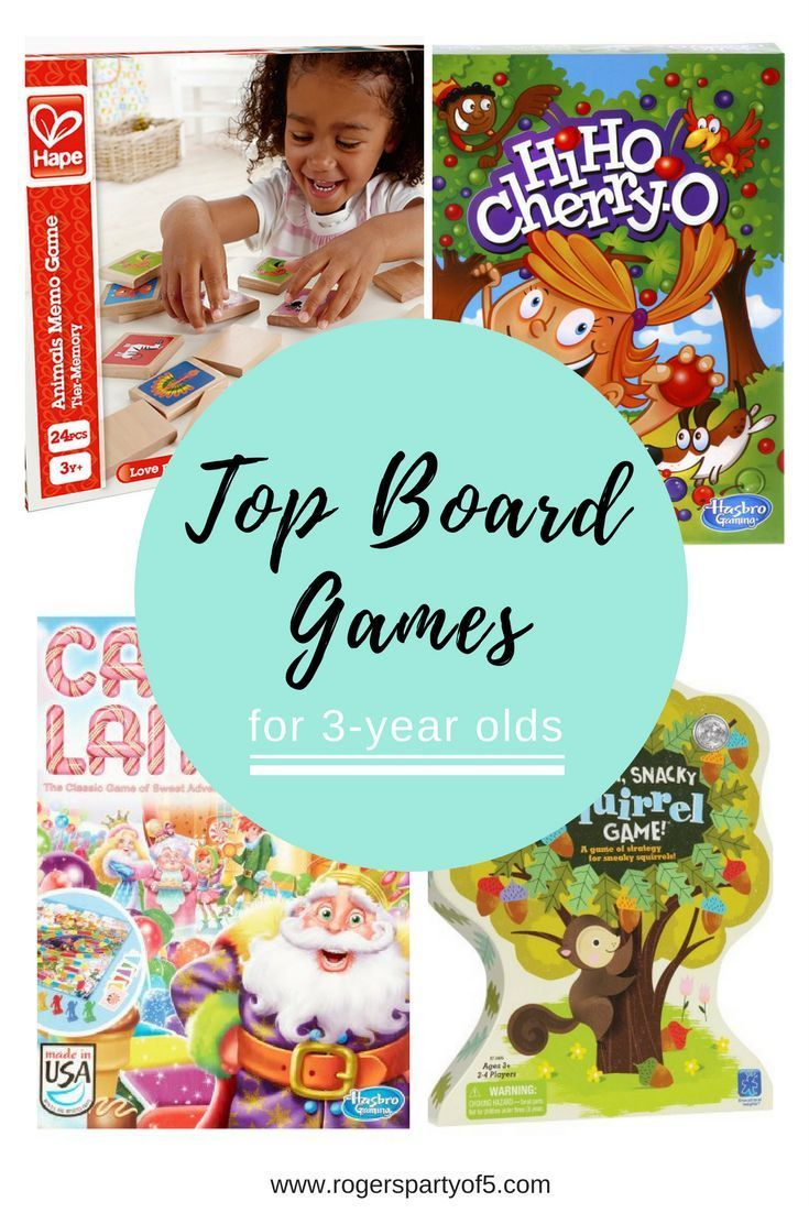 Looking for fun things to do with your three-year-old? Board games are great for teaching cognitive skills. Here is a roundup of our top board games for three-year-olds.
