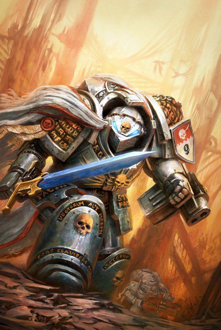 Warhammer 40k Fallen #1 by byakko-kun.deviantart.com on @DeviantArt