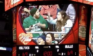 17 Kiss Cam Moments That Went Wonderfully Wrong Or Terrifically Right
