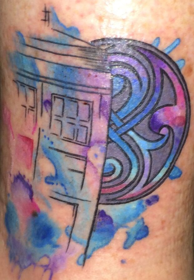 My Doctor Who tattoo
