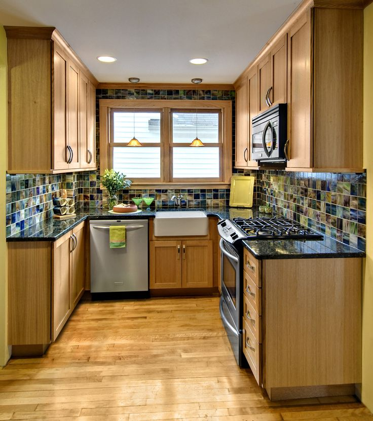 25 best ideas about very small kitchen design on - Kitchen layout designs for small spaces ...