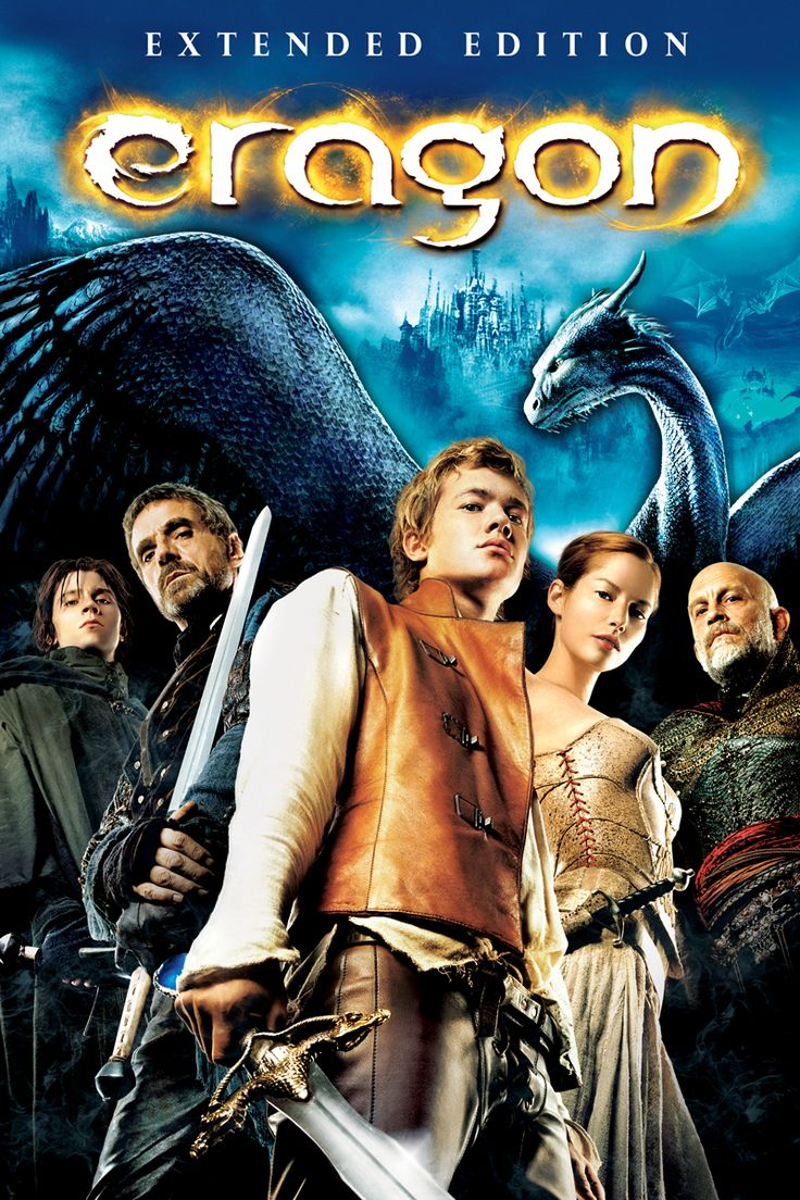Eragon (Extended Edition) Movie Poster - Ed Speelers, Jeremy Irons, Sienna Guillory  #Eragon, #ExtendedEdition, #EdSpeelers, #JeremyIrons, #SiennaGuillory, #StefenFangmeier, #KidsFamily, #Poster, #Art, #Film, #Movie, #Poster