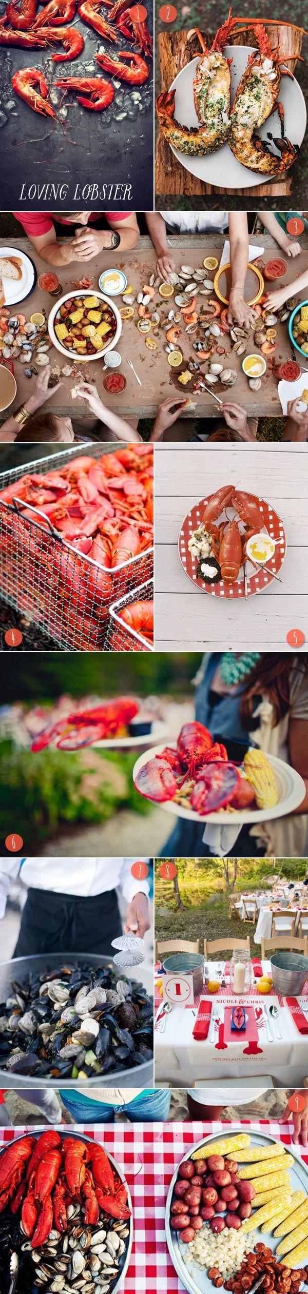 Summer Lobster Boil Inspiration