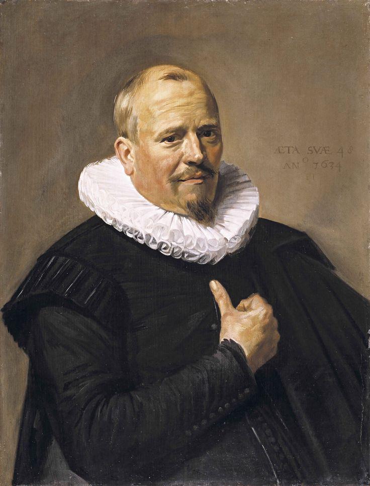"""Frans Hals """"Portrait of a Gentleman"""" 1634 (Timken Art Gallery, San Diego, CA)"""