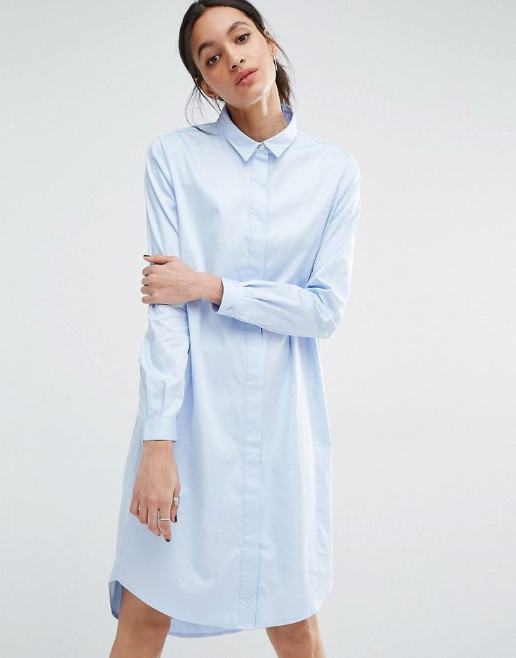 Just Female Gents Shirt Dress