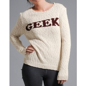 This Geek Jumper...even though the colours wouldn't suit me at all :-(