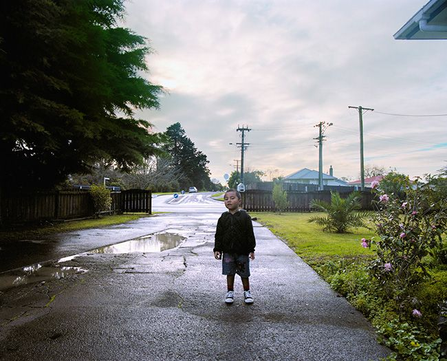 Edith Amituanai, Isaac Before School, 2010, from the series Home / School,C-type photograph