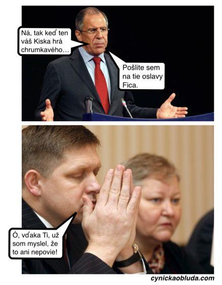 Cynická obluda: Požiadavka z Moskvy
