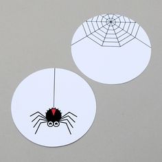 Halloween spinning toy // by minieco