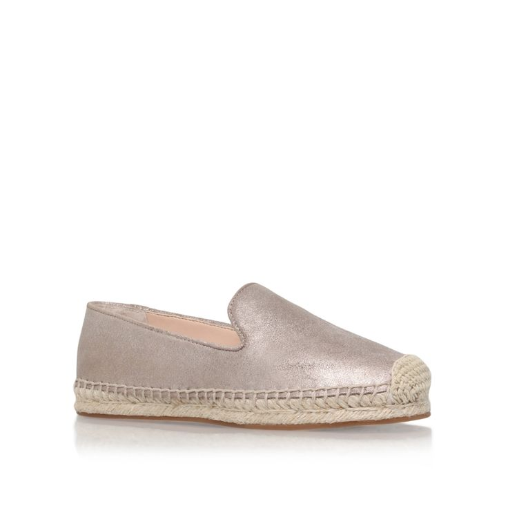 darah gold flat espadrilles from Vince Camuto