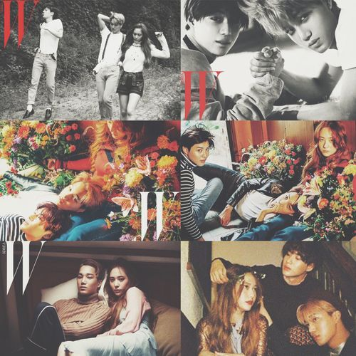 Taemin, Krystal, & Kai || W Korea