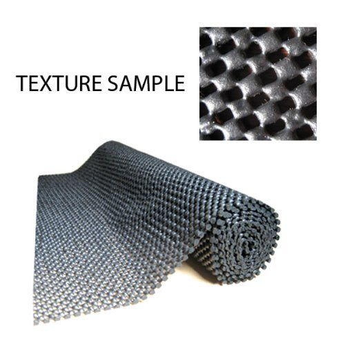 """12"""" X 5' OPEN WEAVE TOOL BOX LINER by Nu-Source Inc.. $7.99. In a tool box or around your workspace and storage unit this flat 1.2 mm thick high grip liner is perfect for anywhere there is a hard surface needing slip-resistance or order among your belongings. This liner's surface is extremely durable and long lasting making this liner ideal for your organizational needs."""