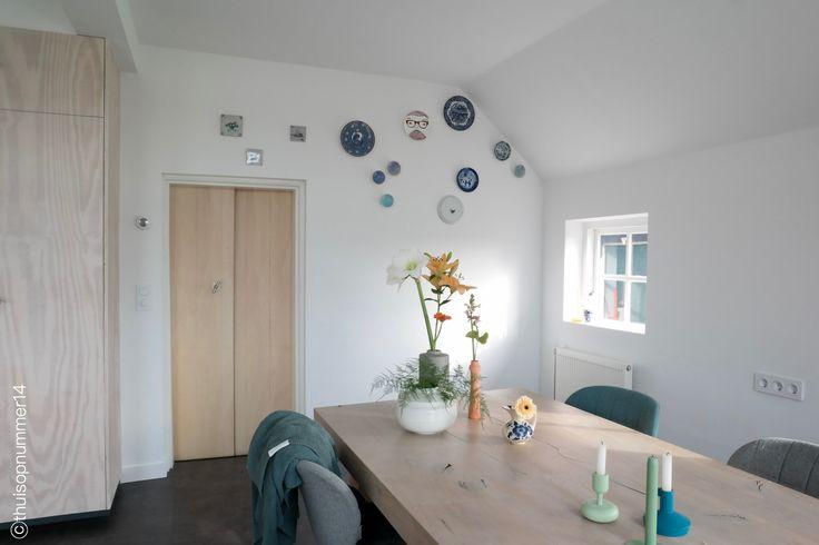 Kitchen #bordenwand www.thuisopnummer14.nl
