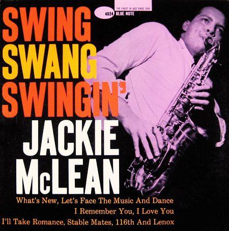 Jackie McLean, Blue Note 4024 #swing #bluenote