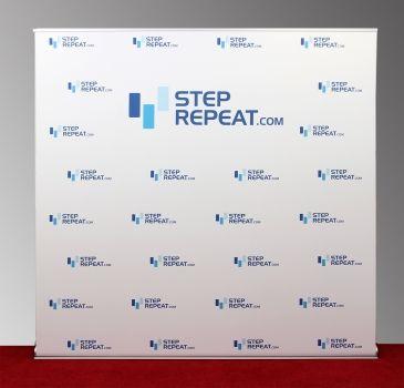 8x8 Retractable Banner - StepRepeat.com