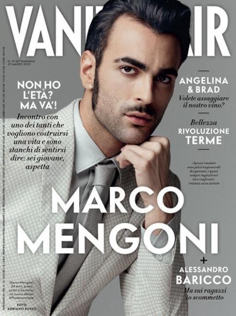 Vanity Fair with Marco Mengoni on the cover @mengonimarco #EUROVISION