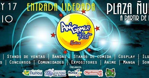 AniGamer Fest Ñuñoa 2016 - Ñuñoa, Chile, 15 al 17 de Julio 2016 ~ Kagi Nippon He ~ Anime Nippon-Jin