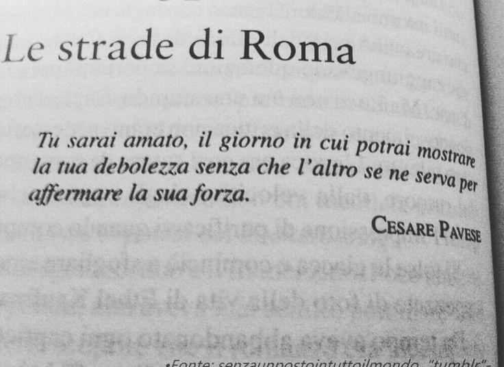 Le strade di Roma - Cesare Pavese