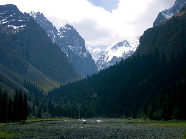 "Tian Shan (Chinese: 天山; pinyin: Tiān Shān; literally ""celestial mountains"";)"