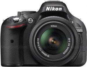 Nikon D5200 vs d3300