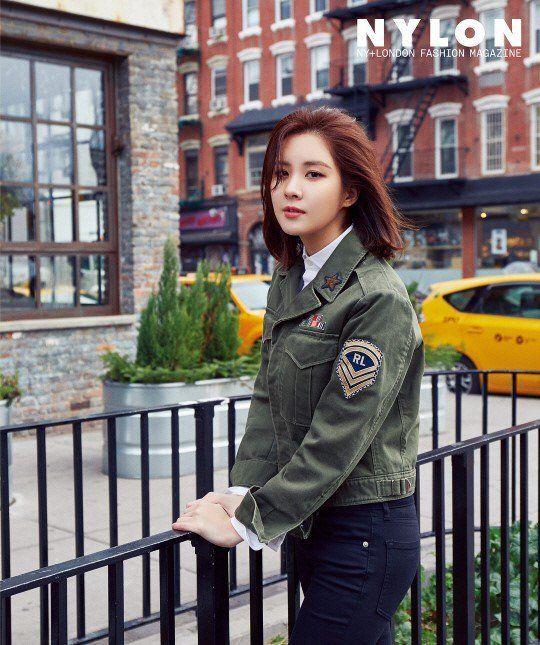Seohyun of Girls' Generation for Nylon Korea