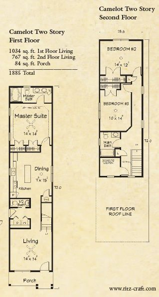 Best 25 narrow house plans ideas on pinterest narrow for Shotgun home floor plans