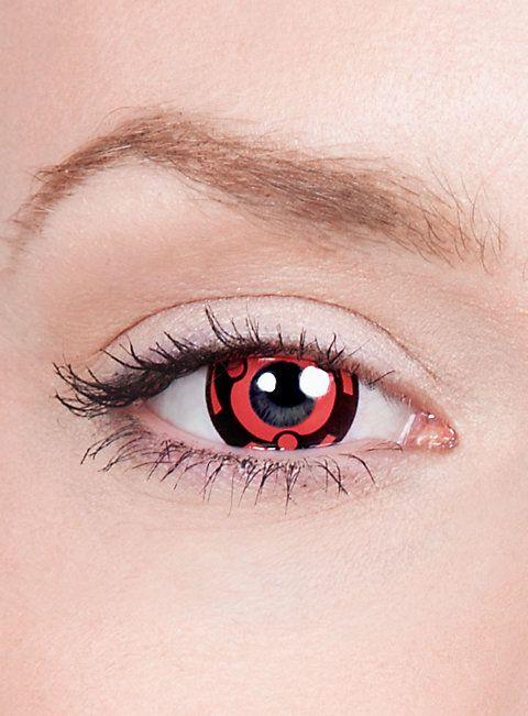 Madaras Mangekyou Sharingan Kontaktlinsen #contactlenses #halloween #sfx #black #red #cosplay #naruto
