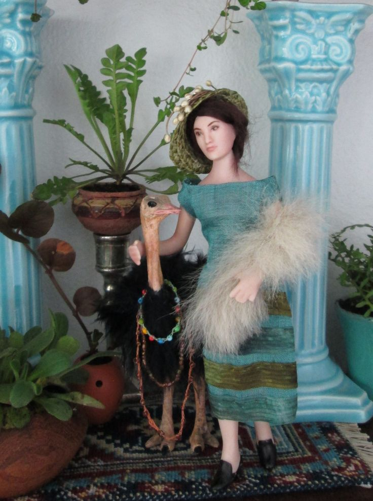 Doll and hat by Taru Astikainen, styling by Hanna & Leijona