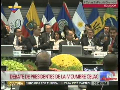 Discurso del Presidente Nicolás Maduro en la IV Cumbre de la Celac