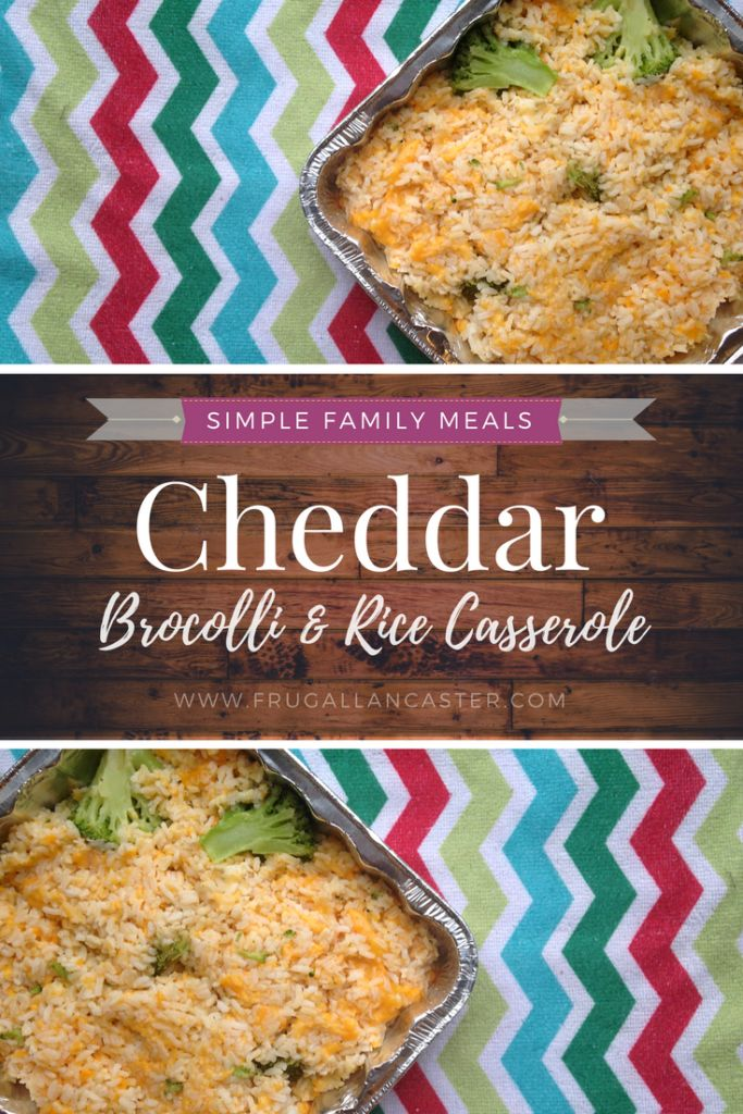 Cheddar Broccoli Rice Casserole and Freezer Cooking with a Preschooler. A recipe can't get much easier than this — bake the chicken, steam the broccoli, combine ingredients, bake or freeze in pan. Dinner is done in a snap!