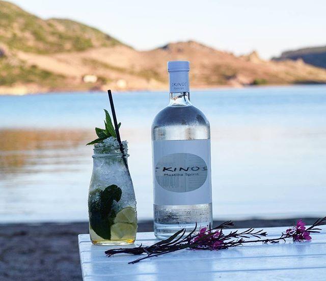 Our summer beach cocktail  at Theion Bar