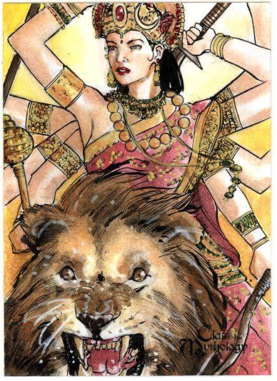 Durga by Csyeung.deviantart.com on @deviantART