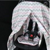 Capsule / Bassinet Swag Cover