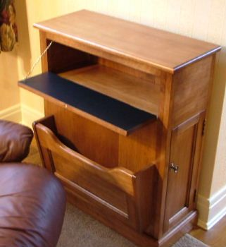 End Tables With Storage Space Left Chair Side Reading