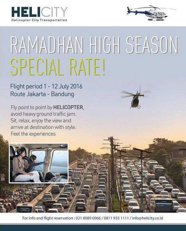 Ada Layanan Taxi Udara JAKARTA - BANDUNG Pake HELIKOPTER..Mau Coba ? - LAPAK MOBIL DAN MOTOR BEKAS