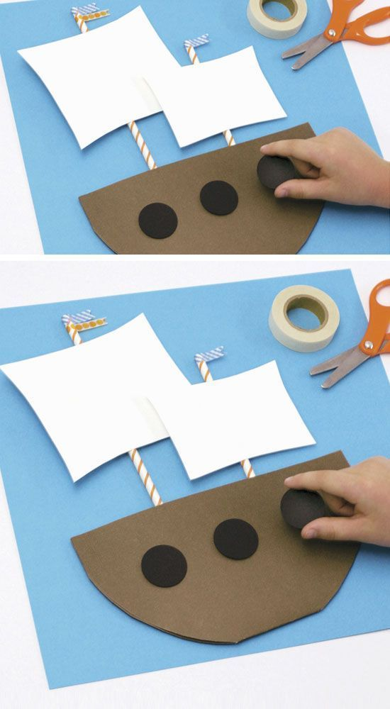 Mini Mayflower | Click Pic for 18 DIY Thanksgiving Crafts for Preschoolers to Make | Easy Thanksgiving Crafts for Kids to Make