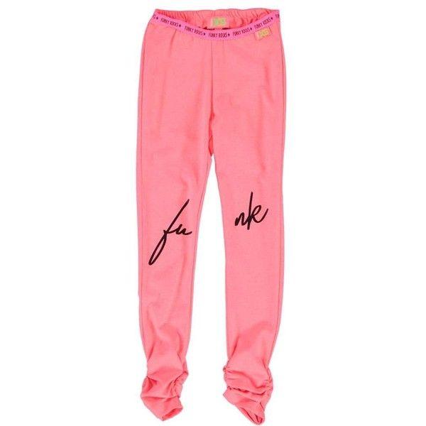 Funky XS legging (va.98/104) ($36) ❤ liked on Polyvore featuring pants, leggings, red pants, red leggings, neon leggings, legging pants and neon pants